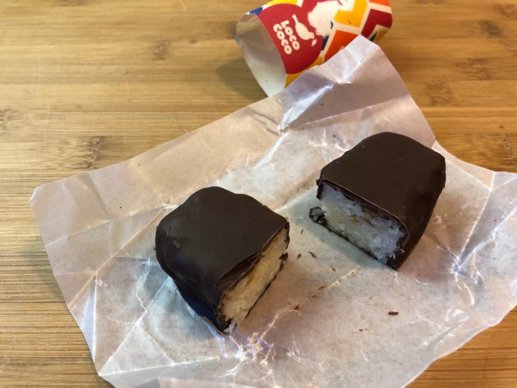 Candy Farm - Loco Coco Riegel durchgeschnitten im Profil