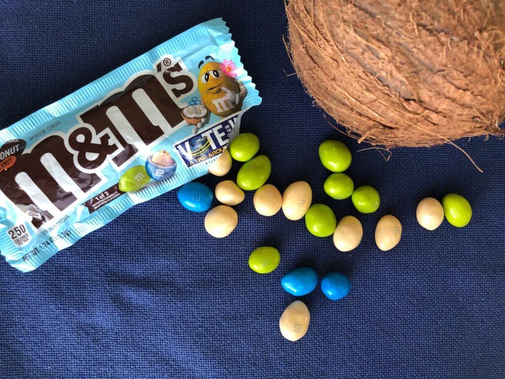 m&m - Thai Coconut Peanut Verpackung geöffnet
