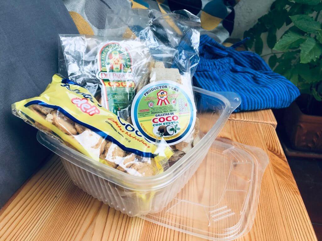 Besuch aus Peru - Kokosnuss Produkte