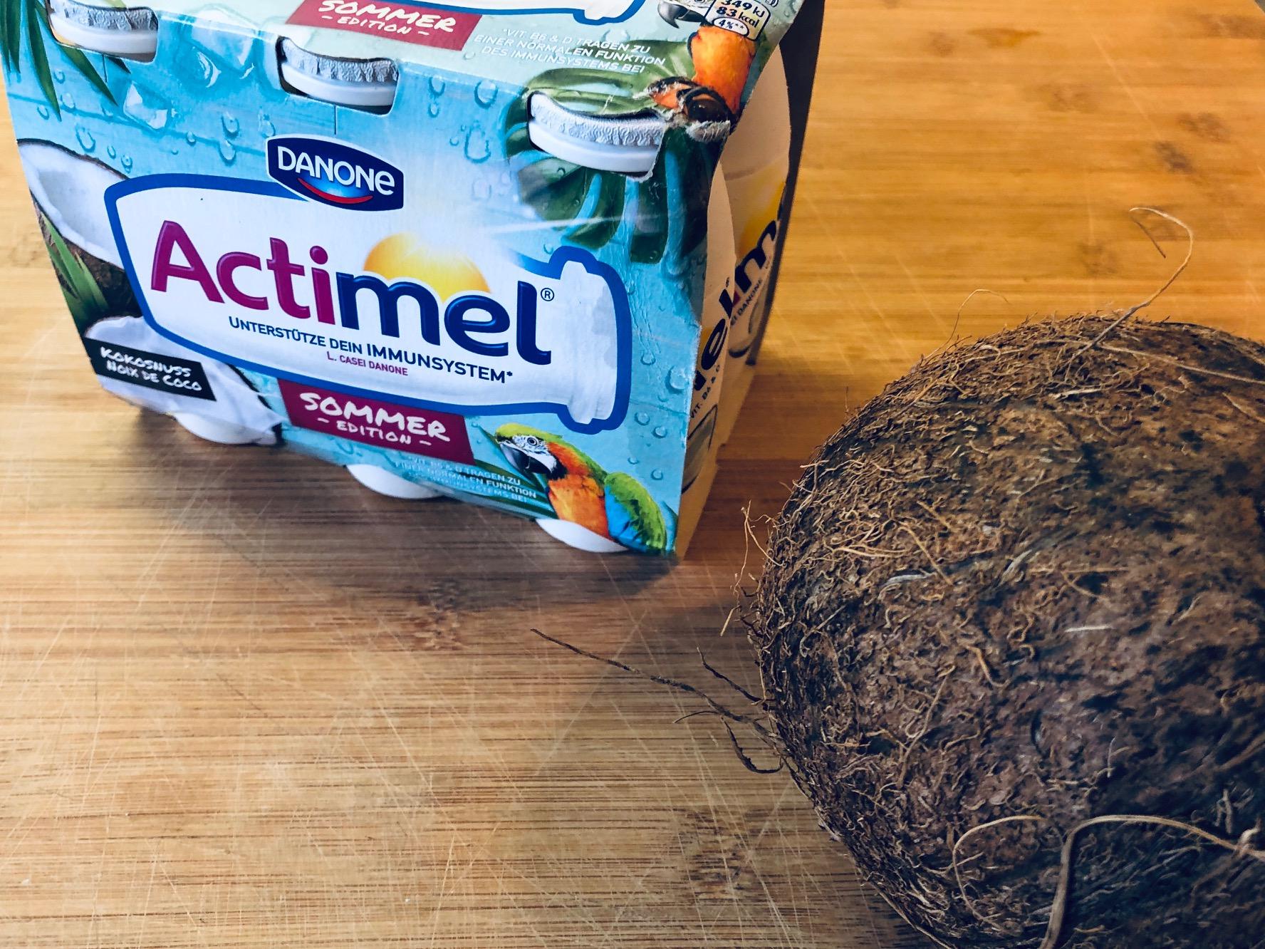 Danone-Actimel-Kokosnuss