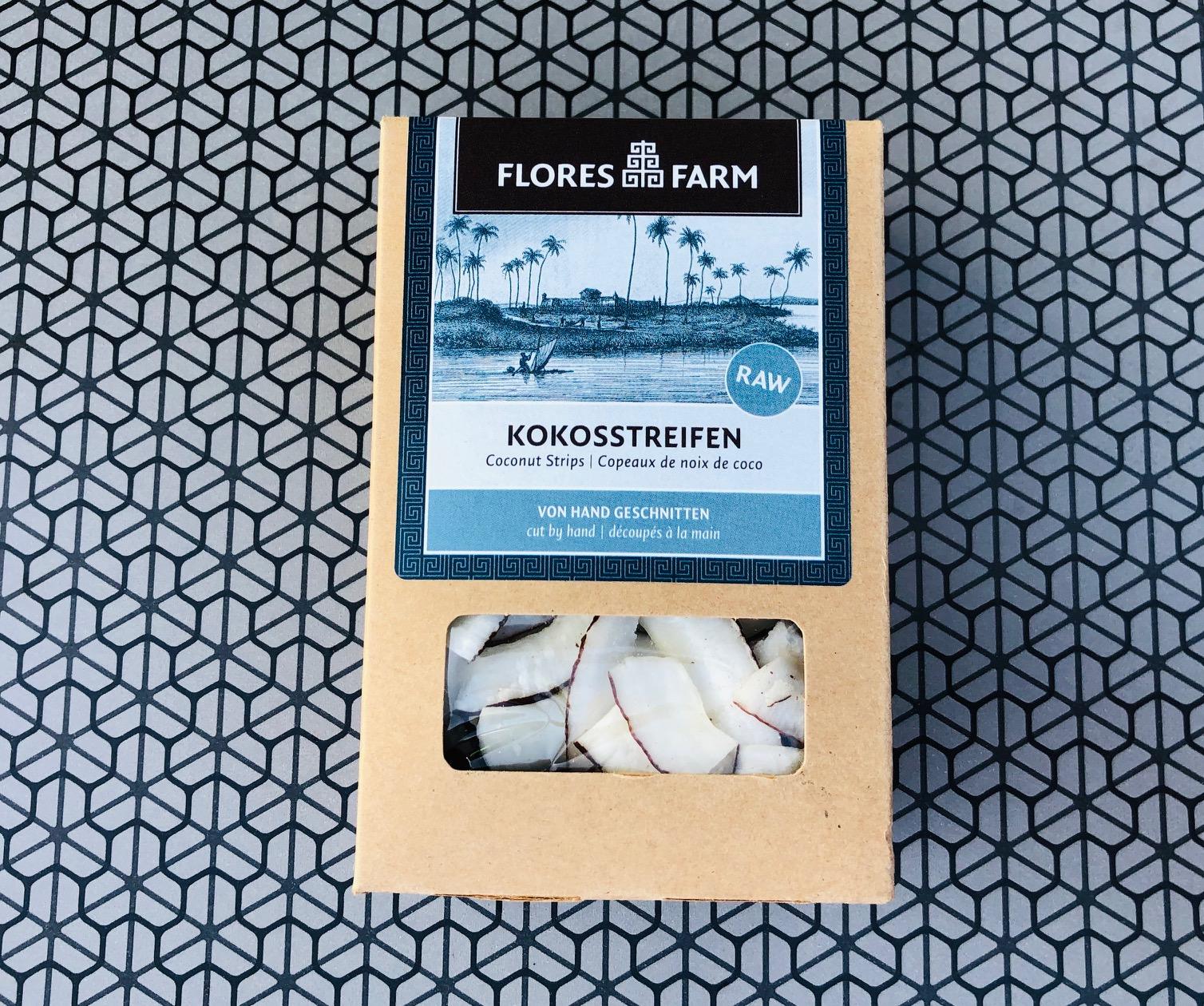 Flores-Farm-Kokosstreifen