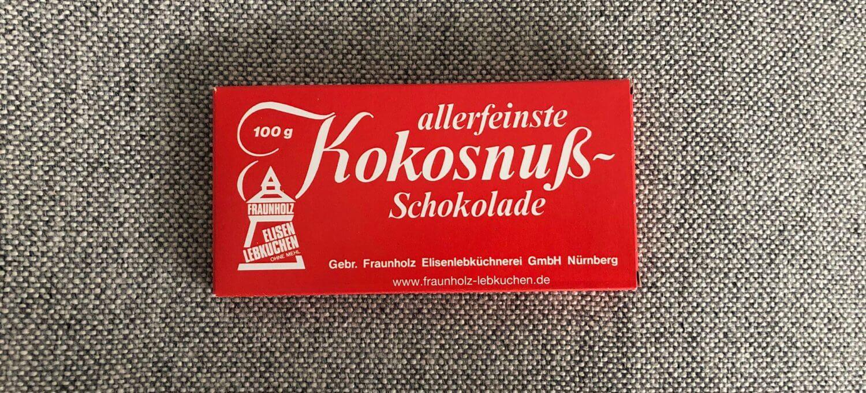 Fraunholz-Nürnberger-Kokosnussschokolade