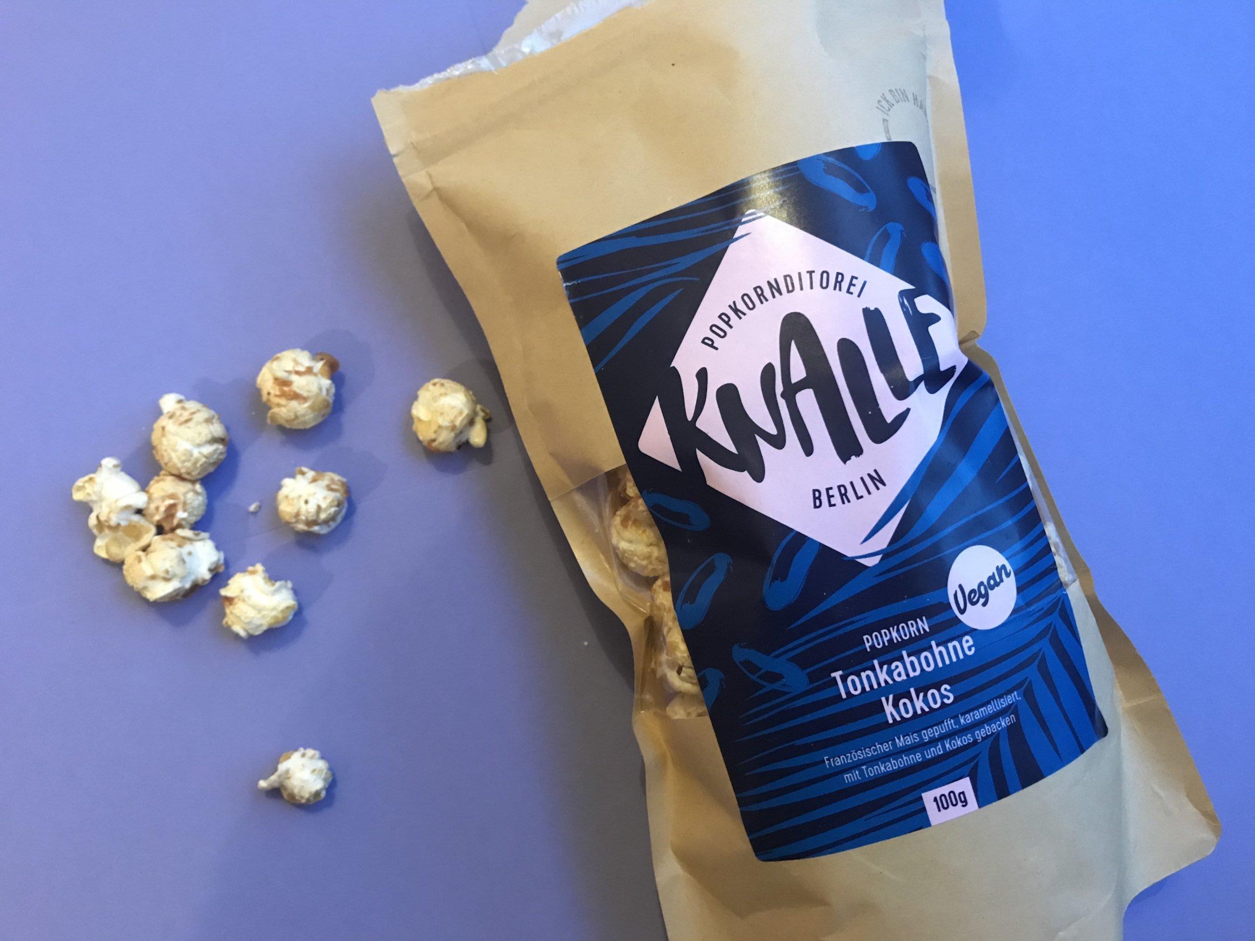 Knalle Kokos-Popcorn