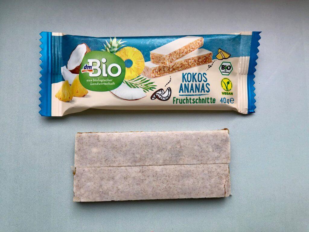 dmBio-Kokos-Ananas-Fruchtschnitte