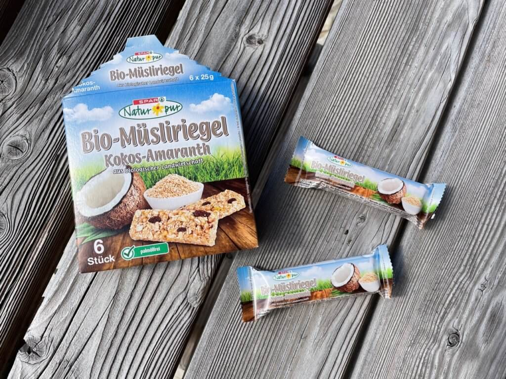 Spar-Bio-Müsliriegel-Kokos-Amaranth